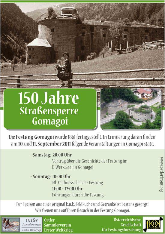 150 Jahre Festung Gomagoi